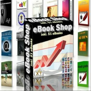 eBook Shop (xtCommerce) mit 51 eBooks - Master Reseller Lizenz
