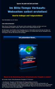 """IM Verkaufswebseiten-Template - """"Mein kleines Internet Imperium"""" - PLR-Lizenz"""