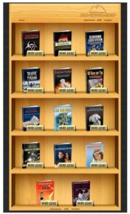 Regal ebook Shop-Software mit 14 Ebook Titel